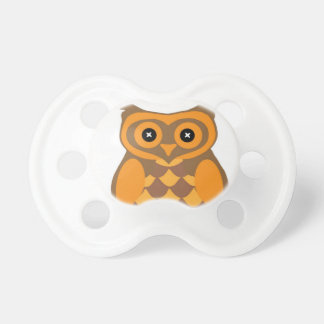 Owl infant pacifier baby