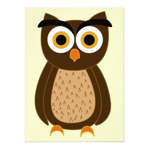 Owl Custom Invite