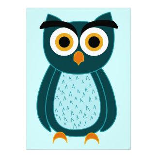 Owl Invites