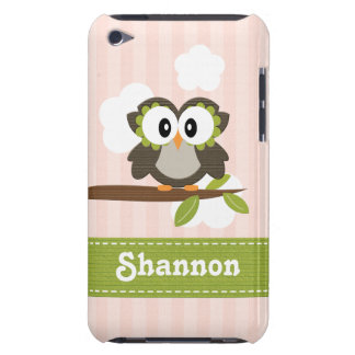 Owl iPod Touch 4th Generation Gen Case Mate Cover Barely There iPod Cases