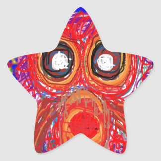 OWL Kids Art : Inspire your KIDS Star Sticker