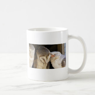 Owl Kisses! Basic White Mug