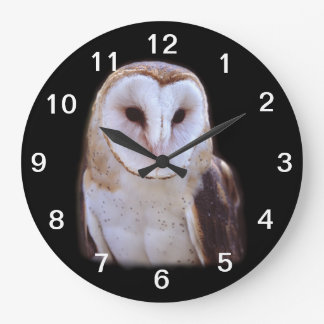 owl large clock