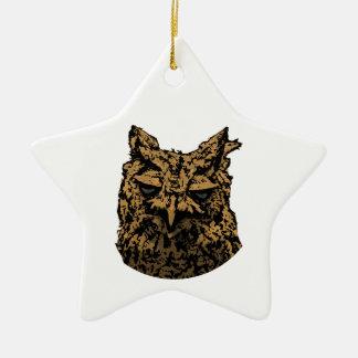 Owl Logo Christmas Ornament