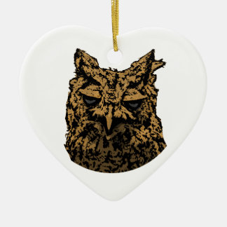 Owl Logo Christmas Ornament