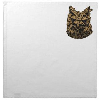 Owl Logo Napkin