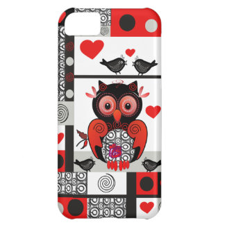 Owl, Love birds & Patterns iPhone 5C Cases