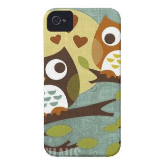 owl love Case-Mate iPhone 4 cases