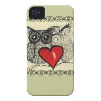 Owl Love - Case-Mate iPhone 4 Cases