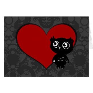 Owl Love III Greeting Card