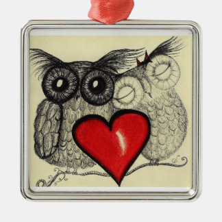 Owl Love - Ornament