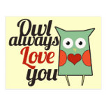 Owl Love Post Cards