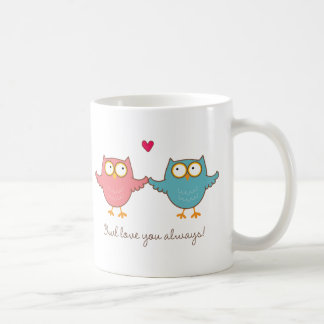 owl love you coffee mug
