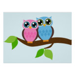 Owl love you posters