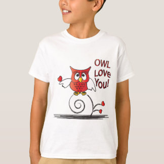 Owl Love You Valentine T-Shirt