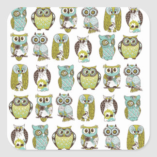 owl meeting stickers
