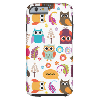 Owl Meeting Vibe iPhone 6 case Tough iPhone 6 Case