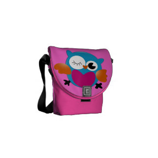 Owl Courier Bags