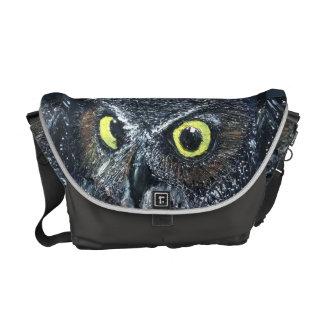 Owl Messenger Bag