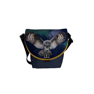 Owl Mini Messenger Bag