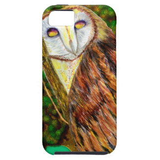 Owl Mixed Media iPhone 5/5s Case Mate