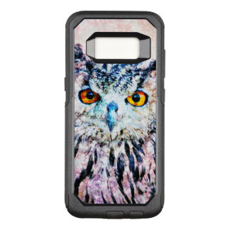 Owl Mixed Media OtterBox Commuter Samsung Galaxy S8 Case