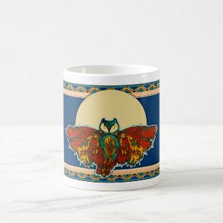 Owl Moon Basic White Mug
