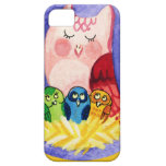 Owl mother of triplets iPhone 5 case