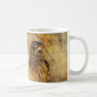 Owl Mug -World's Wisest Granddad Mug w/ Barred Owl