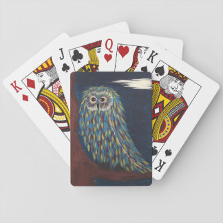 Owl Night Playing Cards