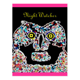 owl Night Watcher Post Cards