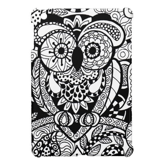 Owl of Wishes Colour Your Own Zendoodle Products