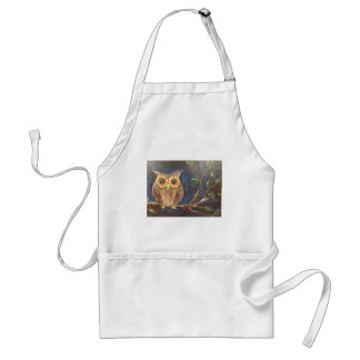 Owl on a Branch Standard Apron