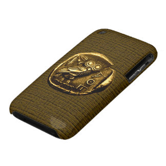 Owl on ancient greek coin iPhone 3 cases