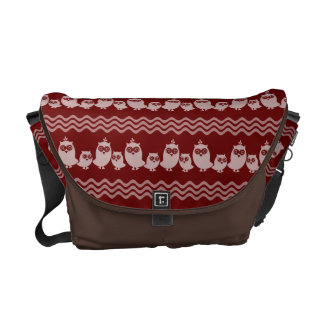 Owl Pattern Courier Bags