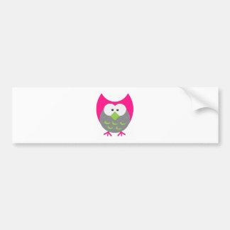 owl pdf bumper stickers