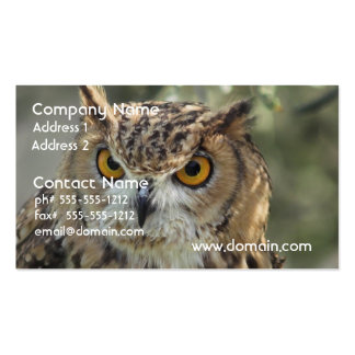Owl Perch Business Cards