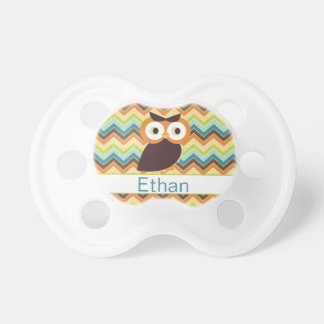 Owl {personalized} Pacifier