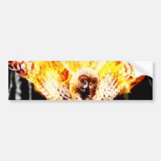 Owl Phoenix Bumper Sticker