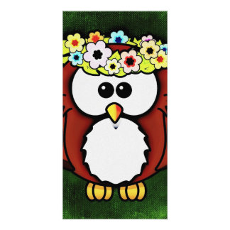 Owl Picture Card