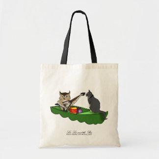 Owl Plus Pussycat (boat), bag Budget Tote Bag