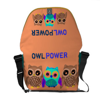 Owl Power Courier Bags