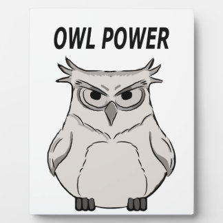 owl power plaque