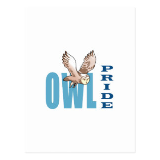 OWL PRIDE POSTCARD