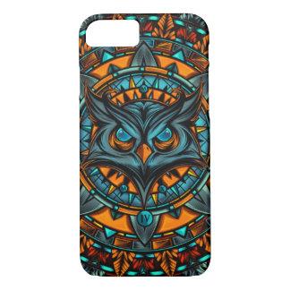 Owl Psychedelic Mandala HD Design iPhone 8/7 Case