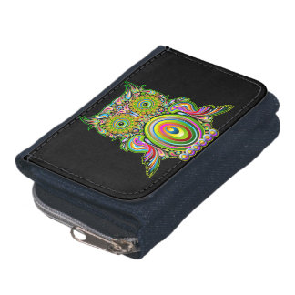 Owl Psychedelic Pop Art Wallet