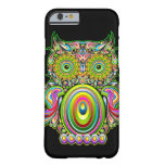 Owl Psychedelic Popart iPhone 6 case Barely There iPhone 6 Case