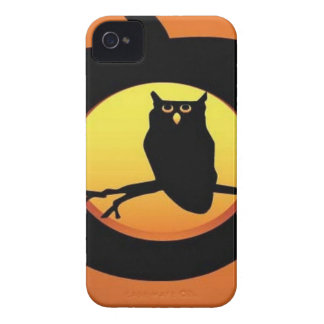 Owl pumpkin iPhone 4 cover