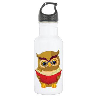 Owl Reading 532 Ml Water Bottle