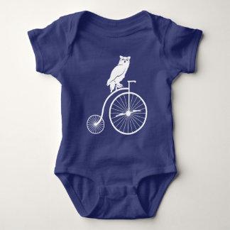 Owl Rider on Penny Farthing Bike T Shirt